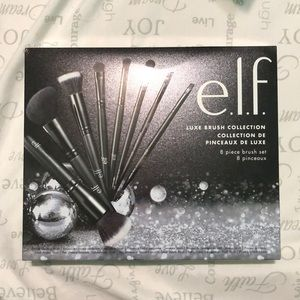 E.l.f luxe brush collection 8 piece brush set
